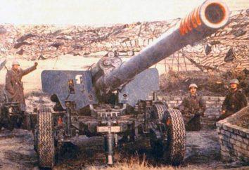 """Howitzer """"jacinto"""". Cannon """"jacinto-B"""": especificações técnicas e fotos"""