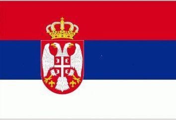 Bandiera della Serbia. Storia e presente