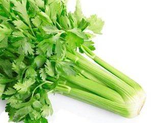 Dieta di verdure: Un piatto di sedano per la perdita di peso
