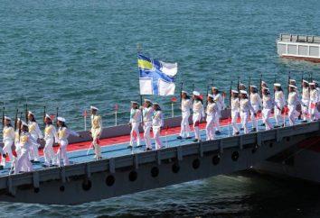 Ukraiński Navy. Granatowy Ukrainy: skład. Floty Czarnomorskiej na Ukrainie