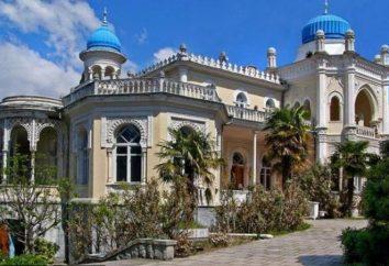 Emiro di Bukhara Palace a Yalta: descrizione e storia attrazioni
