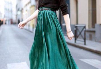 Le tendenze della moda 2013 – Cosa indossare gonna verde