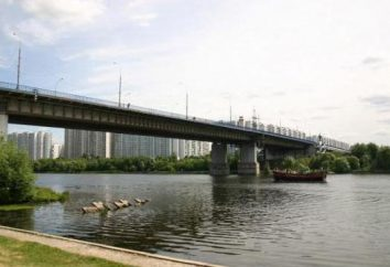 Brateevskaya Pont Moscou: photos, emplacement