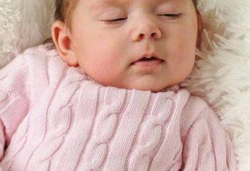 Stricknadeln coveralls für Neugeborene. universal-Modell
