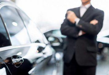 Cómo y dónde para ejecutar el contrato de venta del coche?