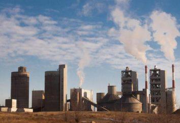 Cement Novotroitsk historia roślin, produkcji, produkty