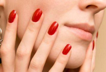 Como goma-laca mantém em unhas? Shellac polonês: prós e contras