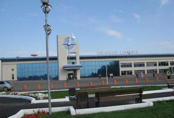Orenburg, aeroporto: site, balcão de informações, endereço