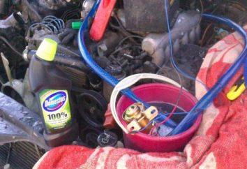 Comment et quoi laver du poêle radiateur de voiture?