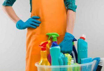 Arten von Reinigungs Räumlichkeiten