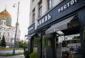 """""""Vanilla"""" – restauracja z klasy premium w Moskwie"""