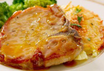 Carne de cerdo con salsa de mostaza: recetas de cocina