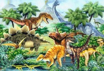 Le nom des dinosaures. Les photos avec les noms