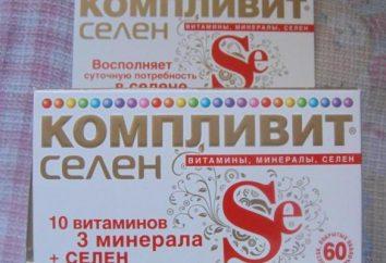 """Vitaminas """"Complivit selenio"""": instrucciones de uso, composición y comentarios"""