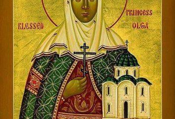 rituais ortodoxos e tradições: Quando é o dia um anjo de Olga