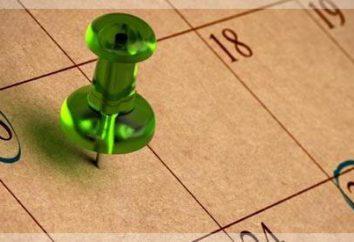 Tipi di calendari: antiche, moderne e speciali