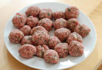 Comment et combien de faire cuire les boulettes de viande de différents types de viande?