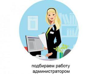 Czego oczekuje się od administratora? Co stanie się z administratorem w Petersburgu?
