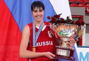 La leyenda del baloncesto rusa Elena Baranova