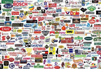 Arten von Marken: alle Klassifikationen