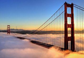 Onde está a ponte Golden Gate, e qual é a história de sua construção?