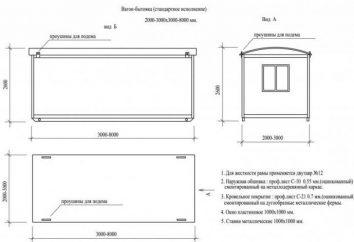Fourgons de construction: la taille et le poids