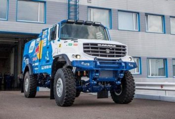 Le bonneted Kamaz – modification du sport à participer au rallye Paris – Dakar