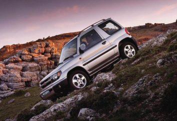 Mitsubishi Pajero Pinin: parametry techniczne kompaktowego crossovera