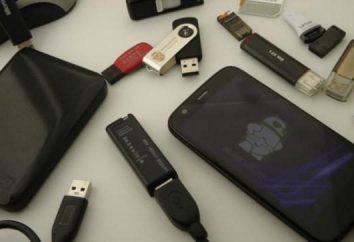Come collegare un'unità flash USB per l'androide smartphone? I problemi principali