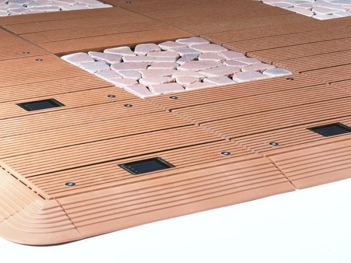 Mattonelle di plastica per i percorsi del giardino: per creare un