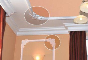 Qual è le modanature del soffitto di schiuma