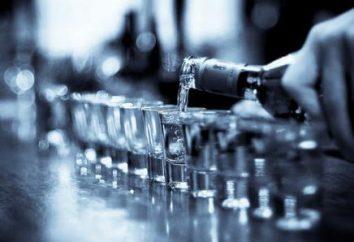 Wódka: kompozycja. Skład chemiczny i wartość odżywcza wódki