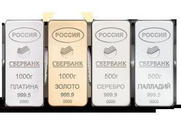 ¿Cuál es la cuenta de metal Sberbank. Cómo abrir una cuenta de metal despersonalizada Sberbank