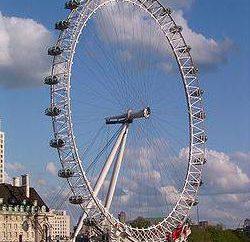 London Riesenrad Geschichte, Höhe