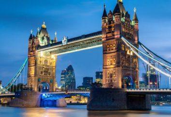 El país de las tradiciones antiguas. Donde en el mapa del mundo es el Reino Unido?