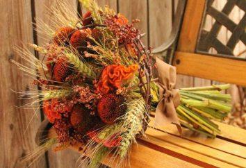 Jesień ślub: dekoracja, dekoracja sali, scenariusz, zaproszenia