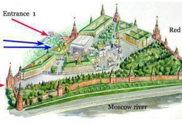 Kreml. Walking jazdy