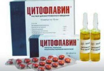 """Lek """"Citoflavin"""": odpowiedniki i chorób, do których są stosowane"""