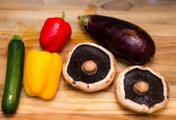 Berinjela no inverno com cogumelos – receitas