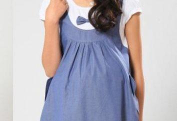 Der Aufbau eines Musters für schwangere Frauen