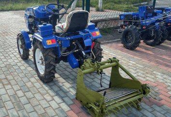 """mini-tracteur """"Chuvashpiller 120"""": commentaires, spécifications, but"""