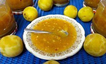 Comment faire cuire la confiture de prunes jaunes