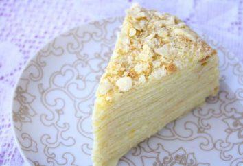 Torta con latte condensato in una padella: la ricetta con una foto