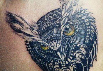 """""""Sowa"""" – tatuaż dla najbardziej inteligentny i stylowy"""