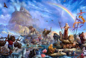 Gefunden seltenen Mosaiken, die die Geschichte der Arche Noah beschreiben
