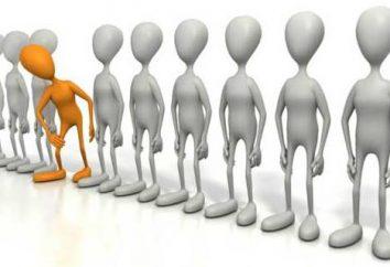 Personalità e l'ambiente sociale. Caratteristiche dell'ambiente sociale