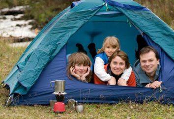 Como organizar uma tenda de aquecimento: instruções passo a passo. Tenda com um fogão. aquecedor de turista para tendas