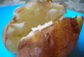 Jak piec ziemniaki w mikrofalowej w całości iw plastrach?