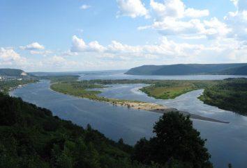 Atrakcje Samara Region: dzielnica, regionalnych i miejskich