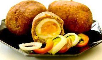 huevo de gallina en el interior. diferentes recetas